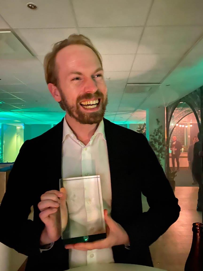 D-Award Patrik Bråkenhielm CFO
