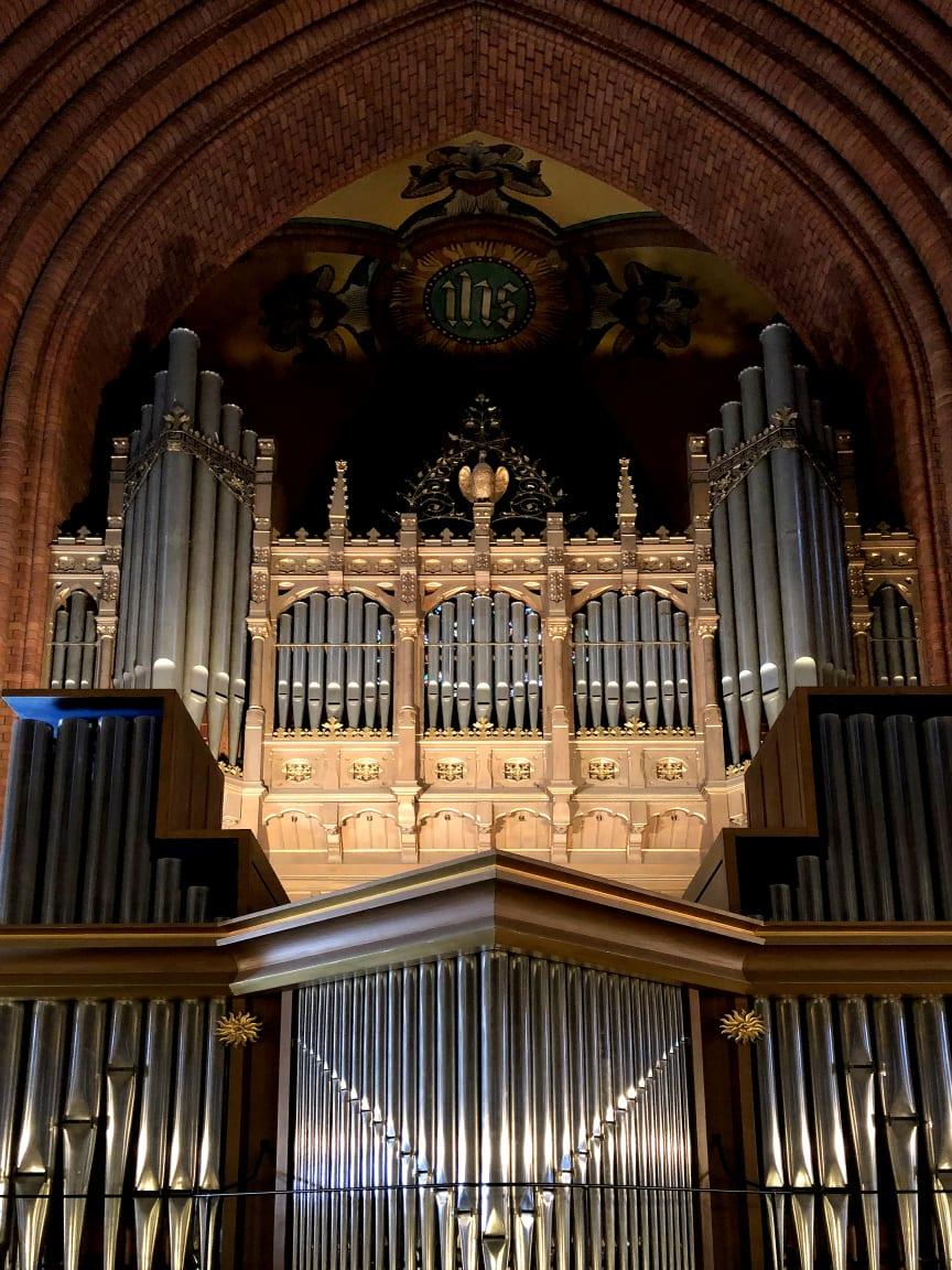 Orgeln i S:t Johannes kyrka