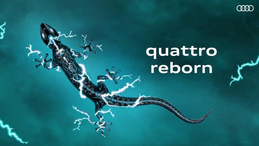 Audi - quattro reborn (2020)
