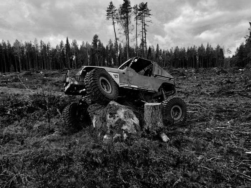 Inmätning av Test Track Terrain