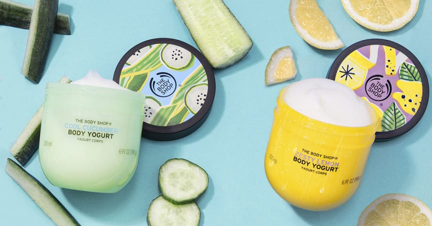 BODY YOGURTS - LEMON/CUCUMBER