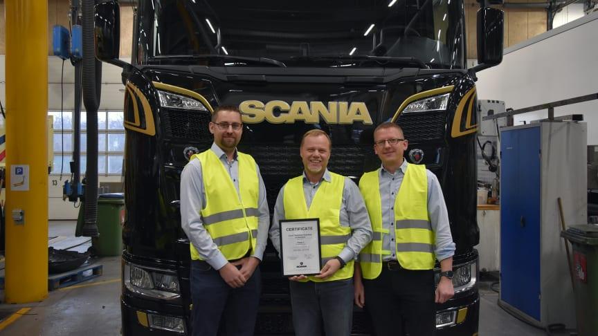 Scania Danmark opnår højeste certificering inden for teknisk support