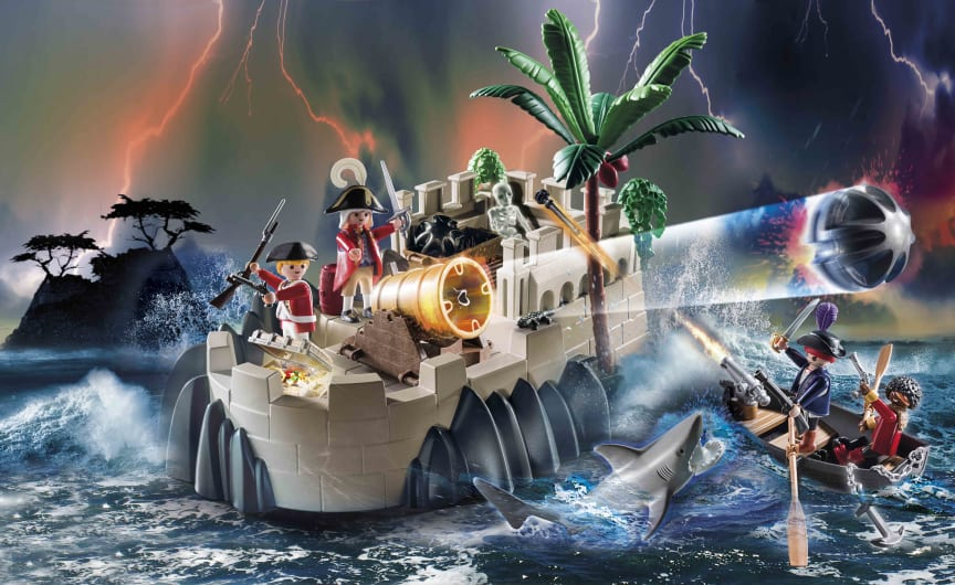 Rotrockbastion (70413) von PLAYMOBIL
