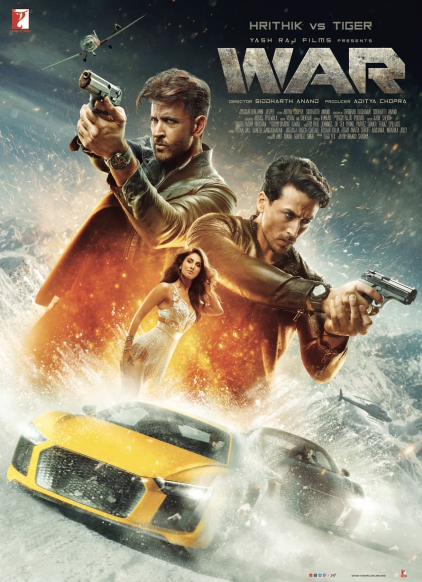 WAR – the most anticipated Bollywood movie