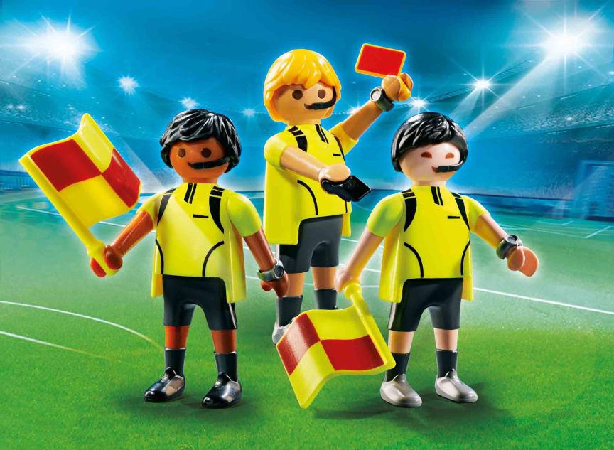 Schiedsrichter-Team (70246) von PLAYMOBIL