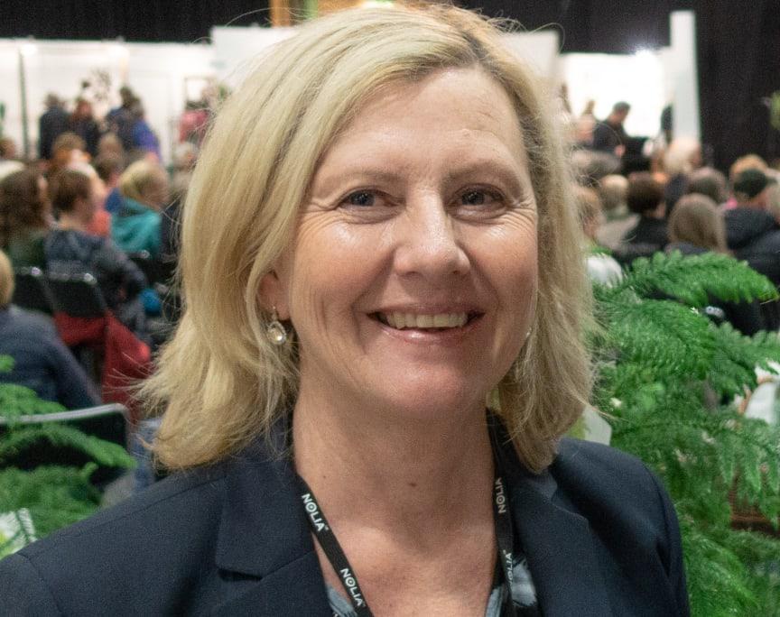 Kristin Olsson, projektledare Nolia Trädgård.