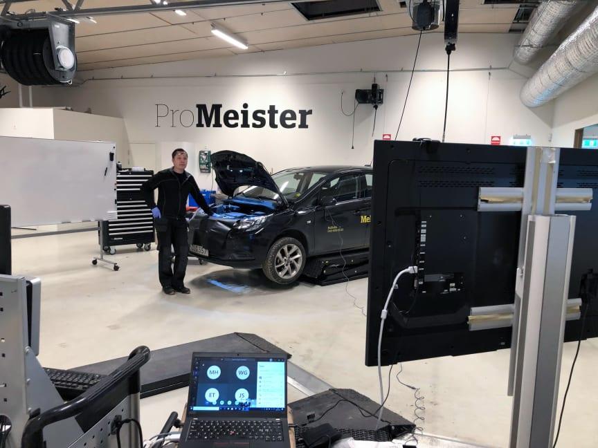 ProMeister gymnasieprogram undervisning via video 2020-03