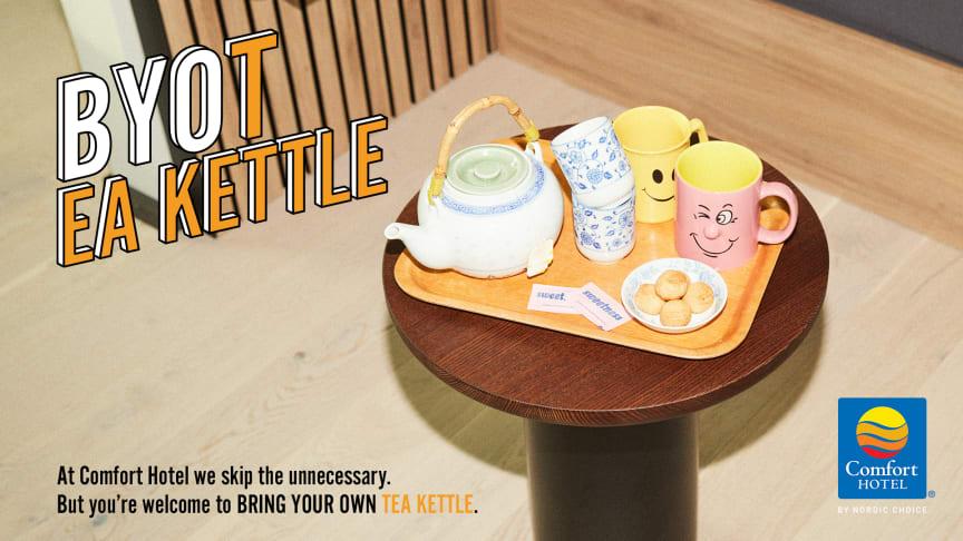 ComfortBYO - Tea-kettle
