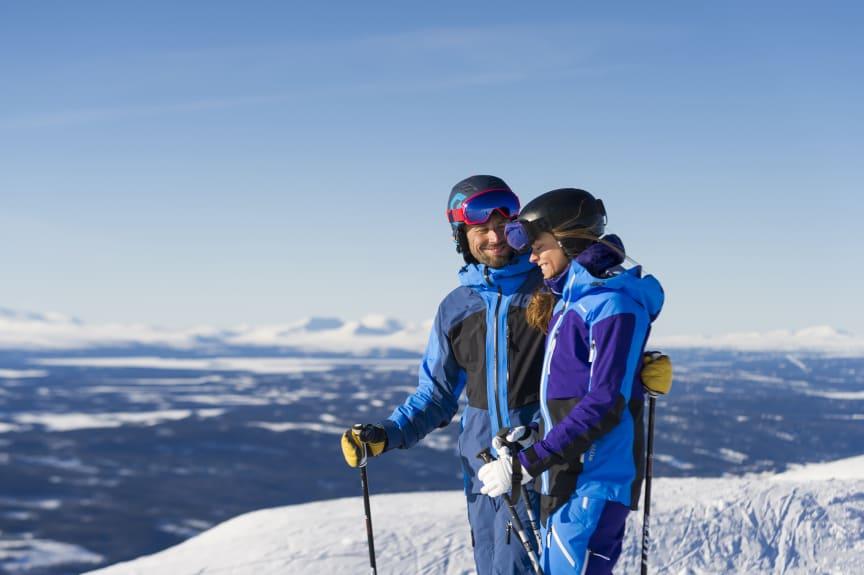 Par skidåkning
