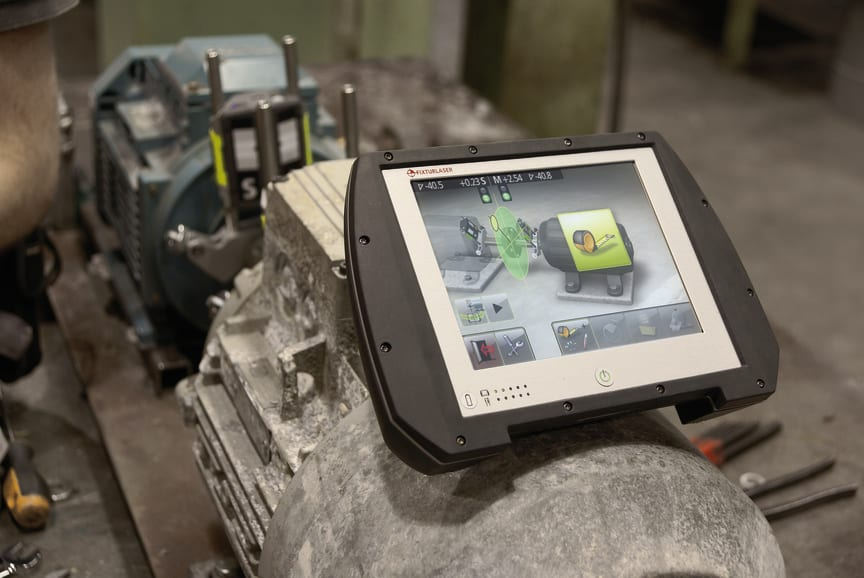 Fixturlaser NXA Pro - A Digital Shaft Alignment Instrument