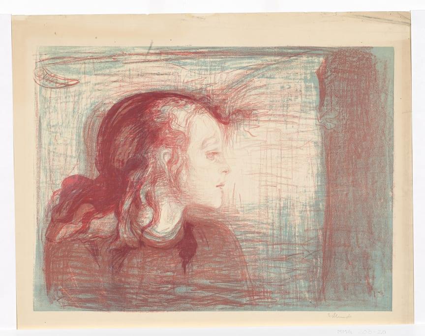 The Sick Child I, 1896