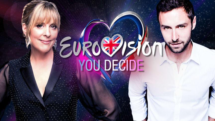 Mel Giedroyc & Måns Zelmerlöw - Eurovision: You Decide on BBC Two