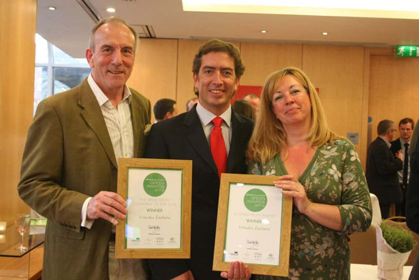 "The Drinks Business Magazine: ""Green Awards 2012"""