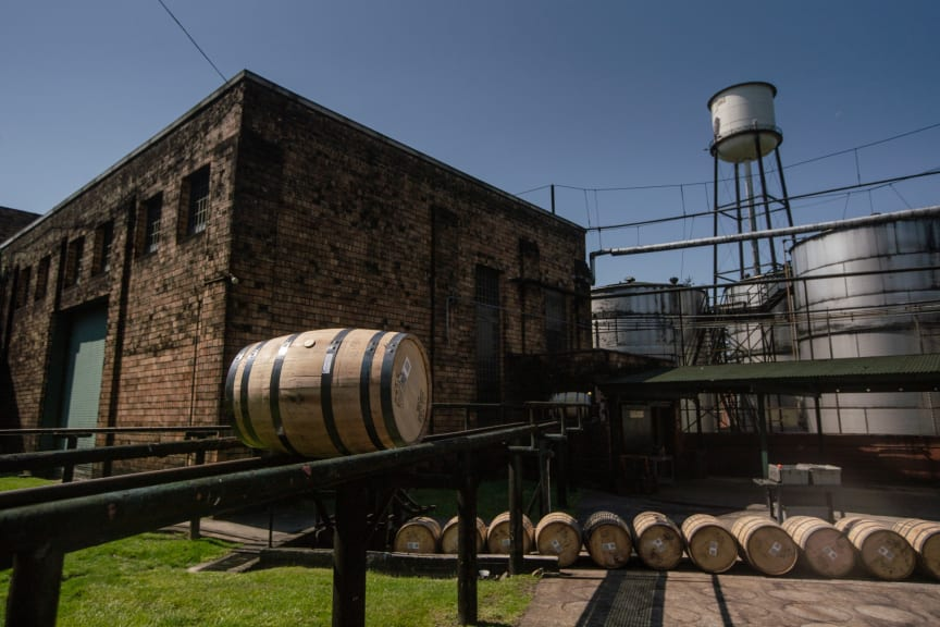 Buffalo Trace Distillery Barrels 2