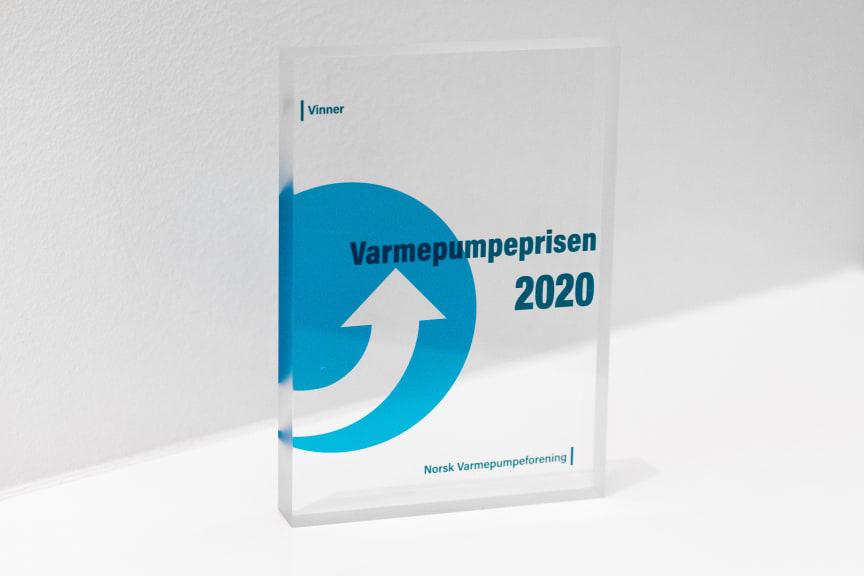 Varmepumpeprisen 2020 - Større varmepumpeanlegg