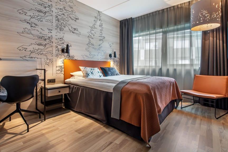 TILGJENGELIGE HOTELLROM: Mange rom står klare for å ta imot helsearbeidere, offentlig ansatte og andre som trenger skjerming og ro.
