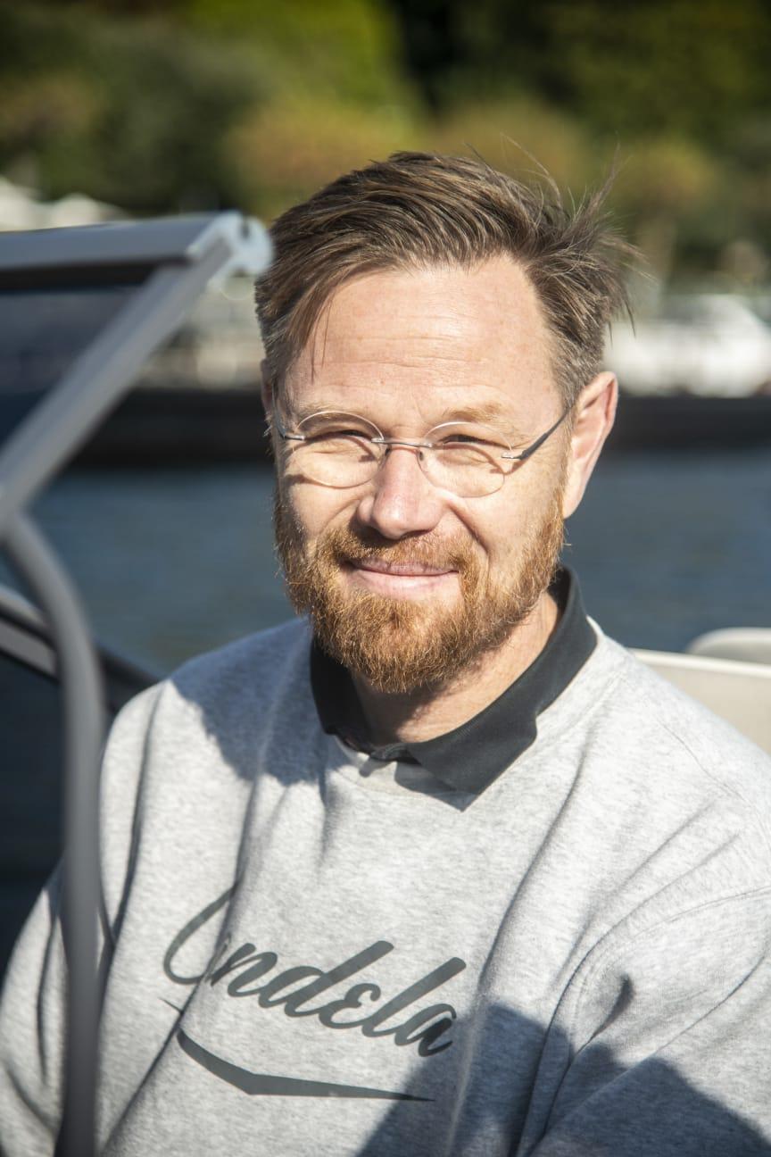 CEO & Founder Gustav Hasselskog