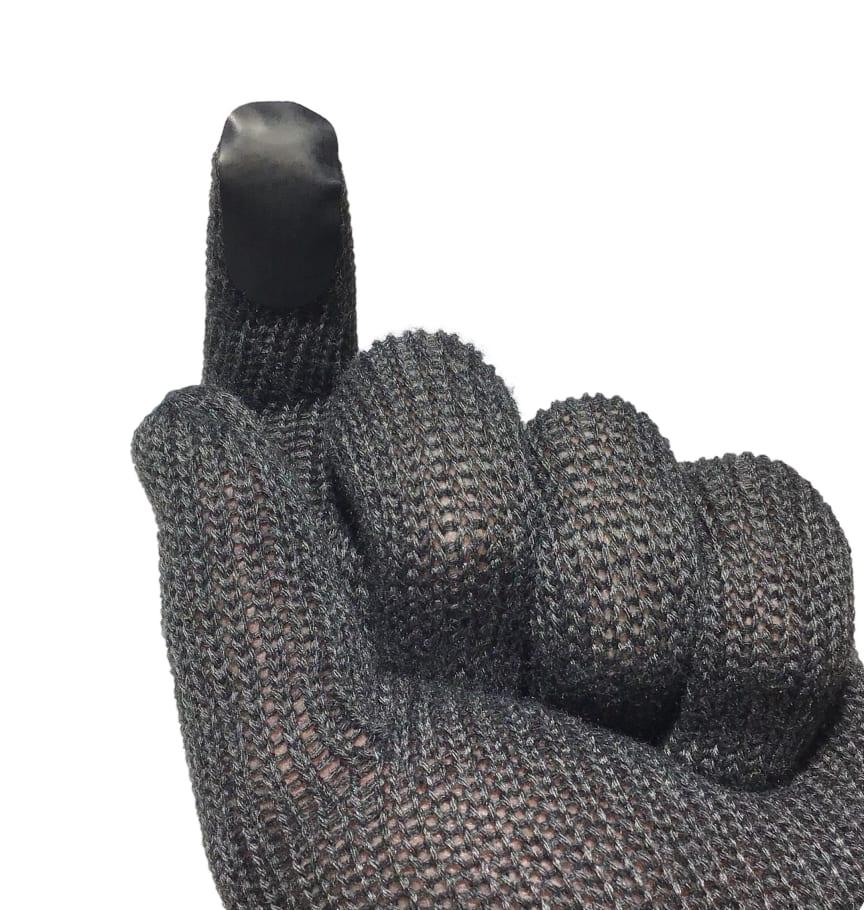 Touchlapper til vantene, Knitt Glove