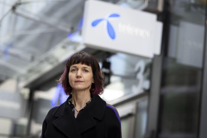 Kaaren Hilsen, CEO Telenor