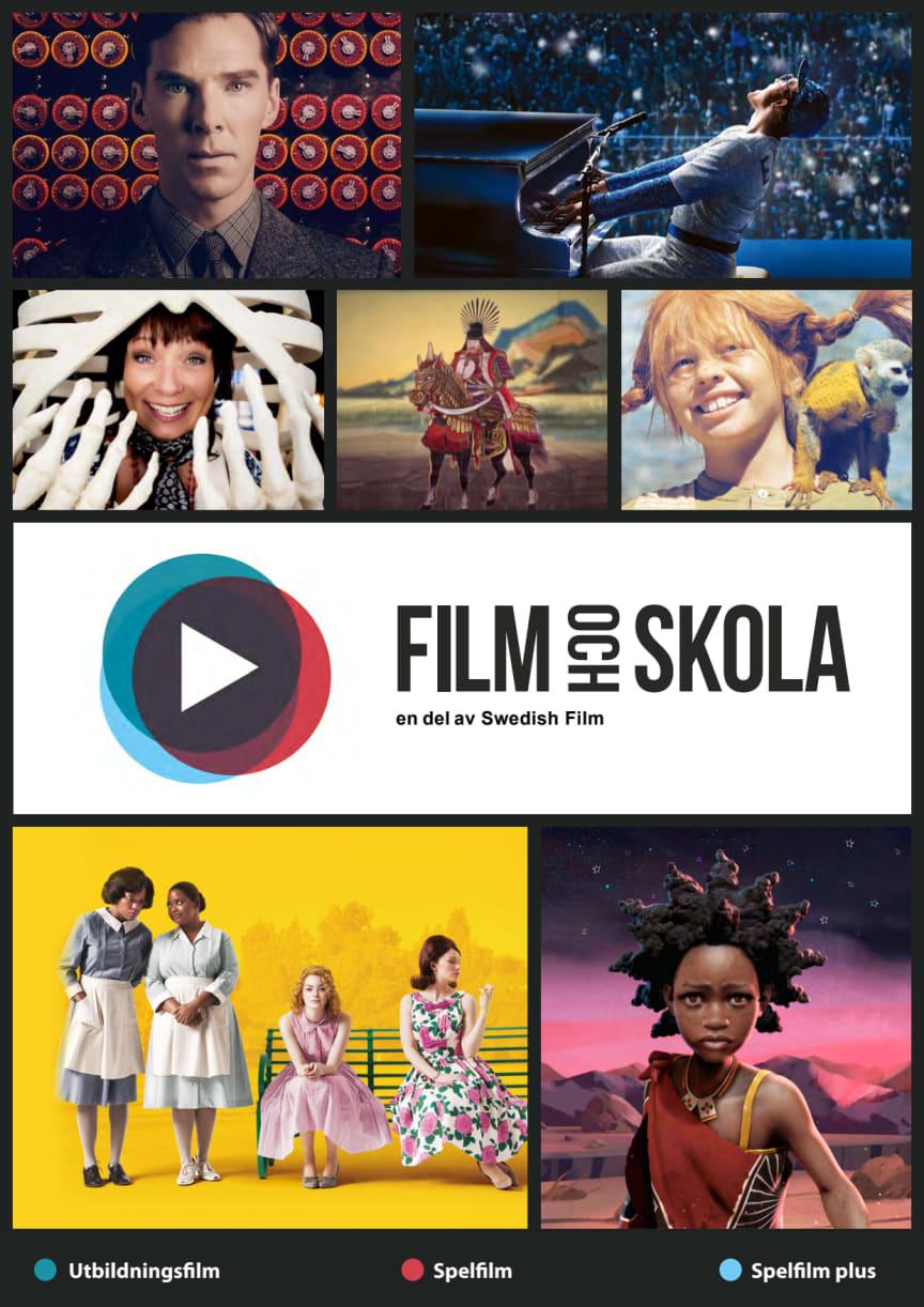 Film och Skola - informationsfolder