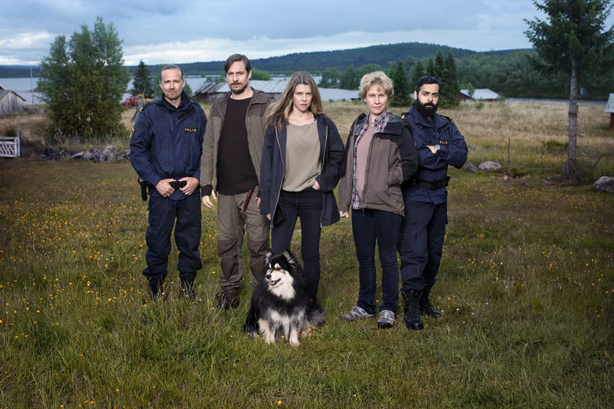 Rebecka Martinsson - Thomas Oredsson, Jakob Öhrman, Sascha Zacharias, Eva Melander og Ardalan Esmaili
