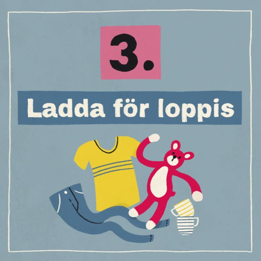 Tips 3: Ladda för loppis!