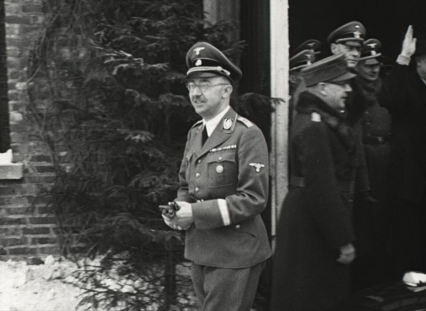 Himmler på besøk i Norge