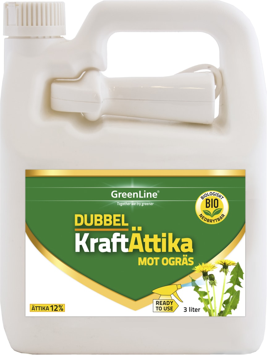 Dubbel Kraft Ättika 3 l