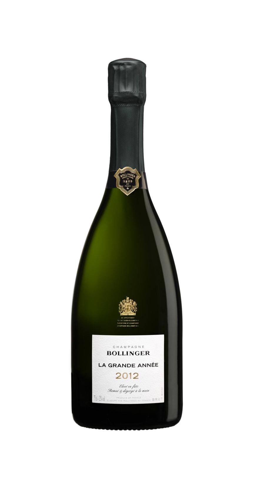 Bollinger La Grande Année 2012 flaska