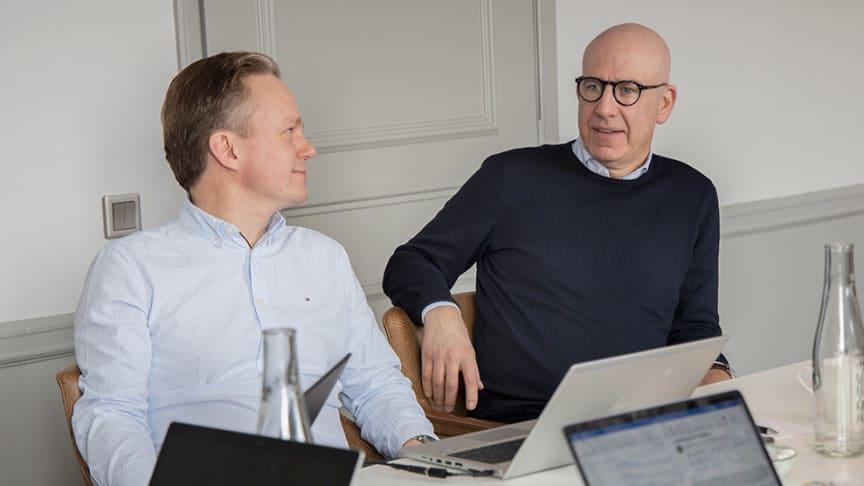 Christian Wibeck och Henrik Sund