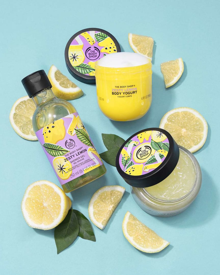 Zesty Lemon range