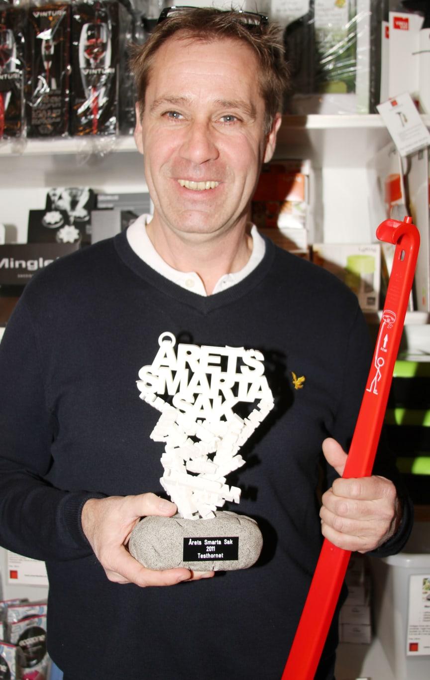 Testhornet och dess innovatör Anders Hansson Vinnare av innovationspriset Årets Smarta Sak!