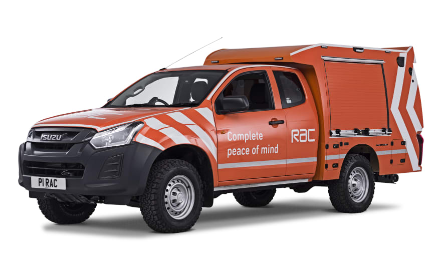 The 2019 RAC Heavy Duty 4x4 Patrol Van