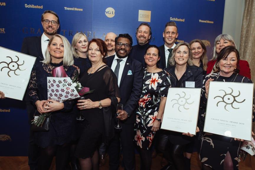 Vinnarna på Grand Travel Award 2020