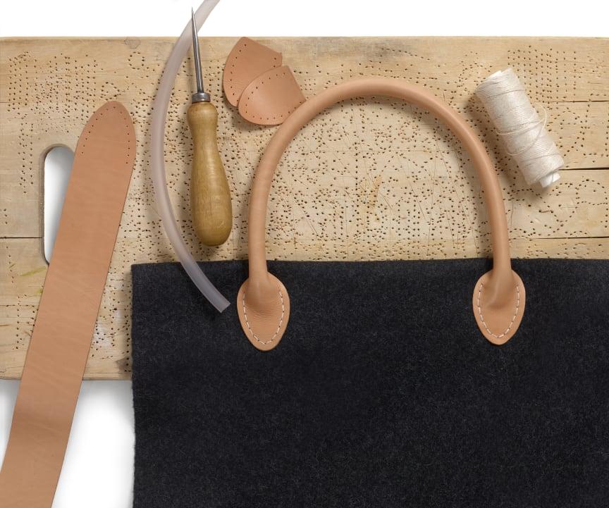 Sy väskor Vackra som smycken, ny bok från Hemslöjdens