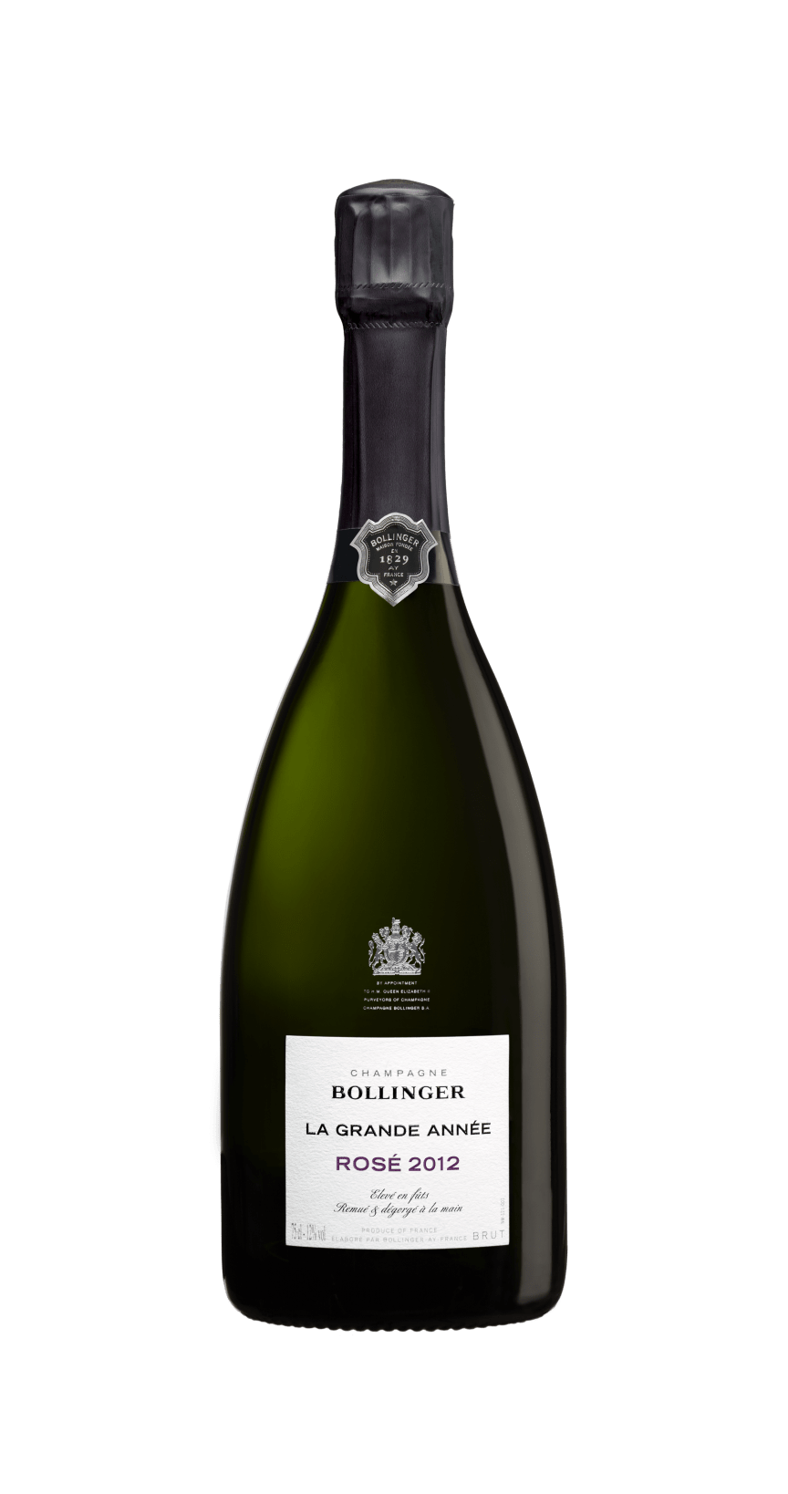 Bollinger La Grande Année Rosé 2012 flaska
