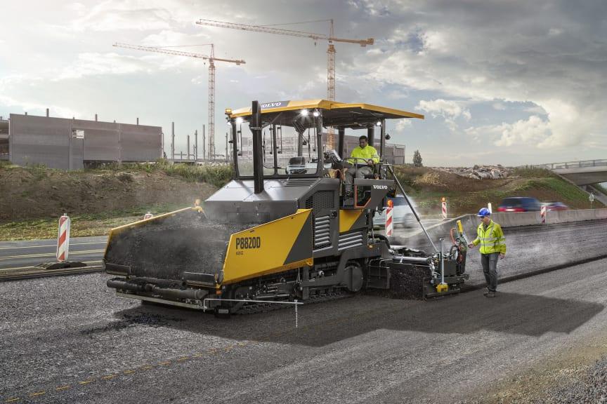 Volvo P8820D ABG asfaltlaggare - Steg V