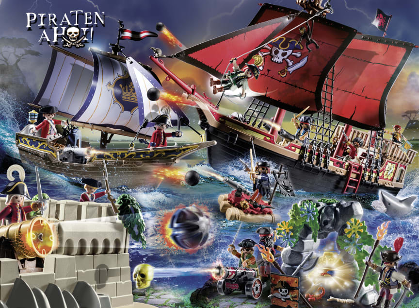 PLAYMOBIL-Spielwelt Piraten