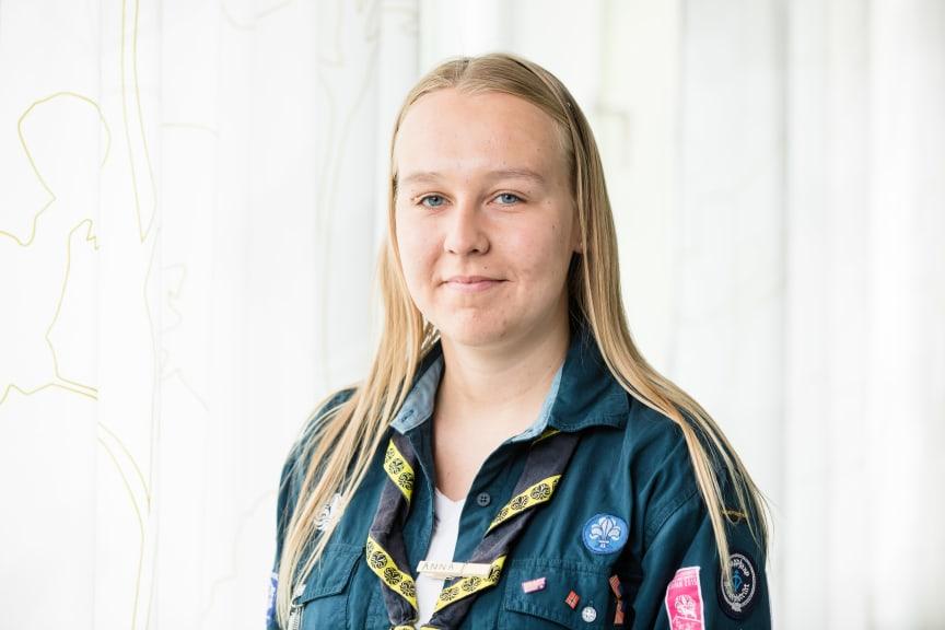 Anna Persson, ung talesperson, Kristianstad