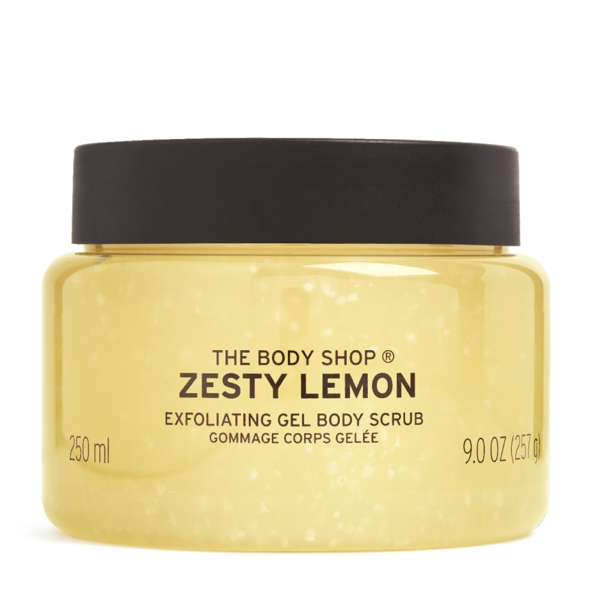 Zesty Lemon Body Scrub
