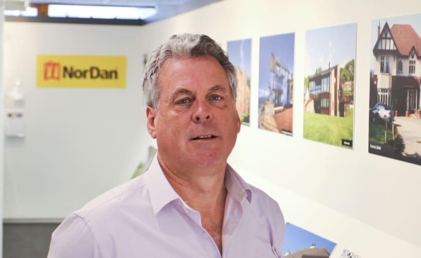 Verkställande direktör i NorDan Ltd., Sean Luskin