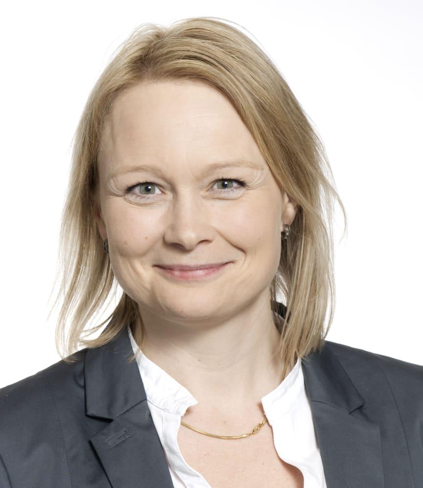 Riksbyggens Ekonomichef Karin Jacobsson
