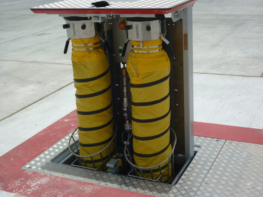 Cavotec pit systems at Bahrain International Airport