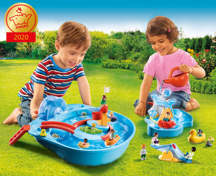 Mit dem ToyAward 2020 ausgezeichnet: Die neue Wasserspielwelt von PLAYMOBIL 1.2.3 AQUA