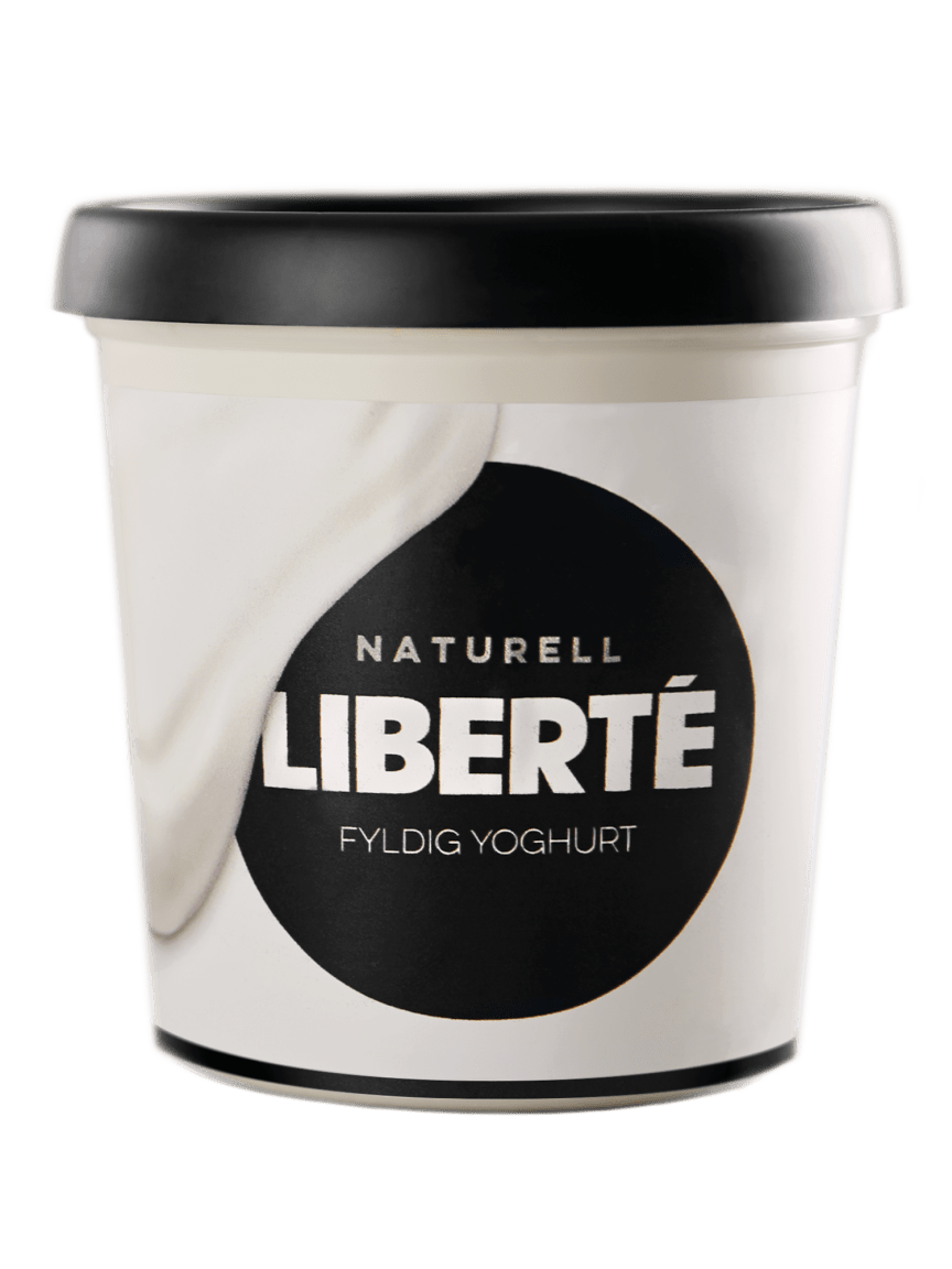 Liberté yoghurt Naturell 400 g png