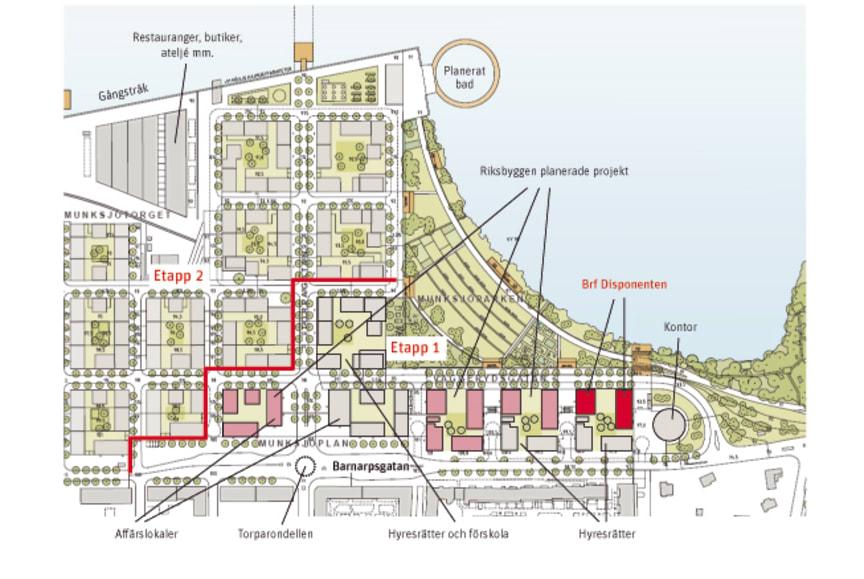 Munksjöstaden karta