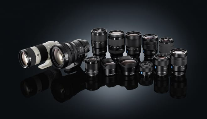 Spoiled for choice: Sony α E-mount family grows with four... - Sony ...