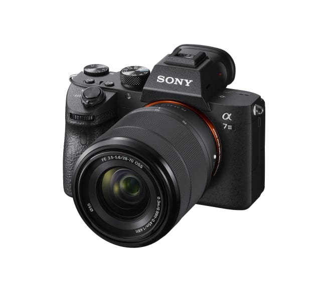 """Sony expands """"Full-frame Mirrorless"""" line-up with new a7 III with ..."""