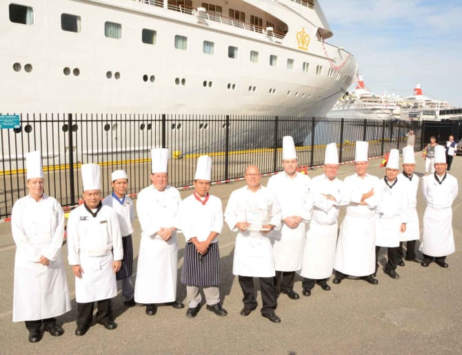 Fred Olsen Is Crowned Britains Best Cruise Line For Food In - Best cruise ship for food
