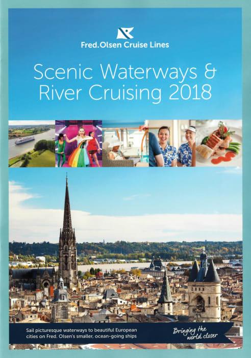 Fred Olsen Cruise Lines Scenic Waterways River Cruising - Cruise ship brochure